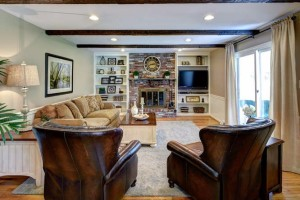 Family Room Home Makeover www.Downingtown PA