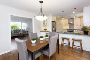 Vacant Home Staging of Kitchen and Living Room www.Organized-by-Design.biz