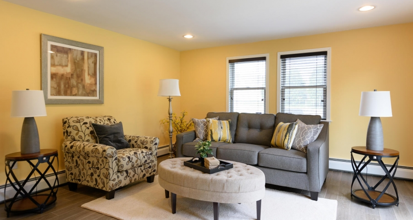Vacant Home Staging Family Room