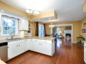 Vacant Home Staging Kitchen Family Room www.Organized-by-Design.biz