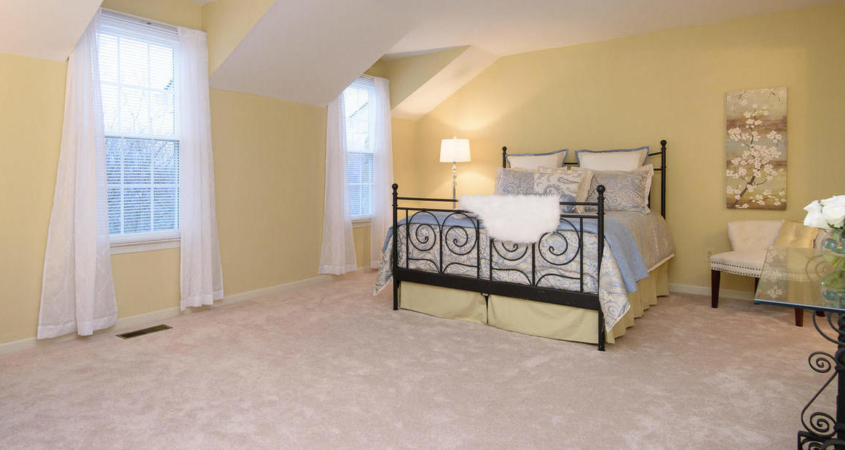 Home Staging of Master Bedroom www.Organized-by-Design.biz