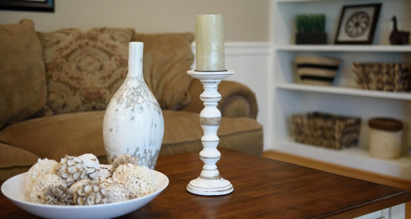 Family Room Home Makeover Project Accessory Details www.Organized-by-Design.biz
