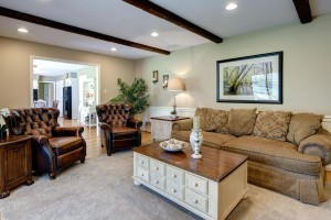 Family Room Home Makeover www.Organzied-by-Design.biz