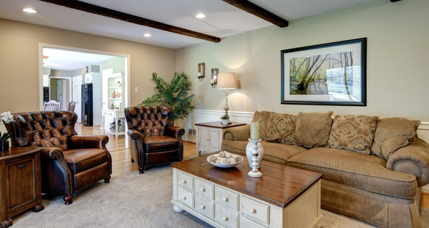 Family room Home Makeover www.Organized-by-Design.biz