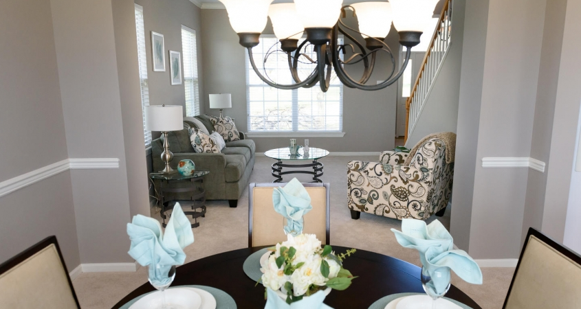 ... Vacant Home Staging Dining Room Living Room Www.Organized By Design.biz  ...