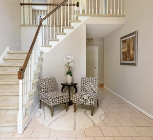Vacant Home Staging Foyer www.Organized-by-Design.biz