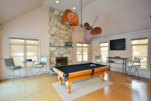 Home Staging of Billiards Pool Table Room www.Organized-by-Design.biz