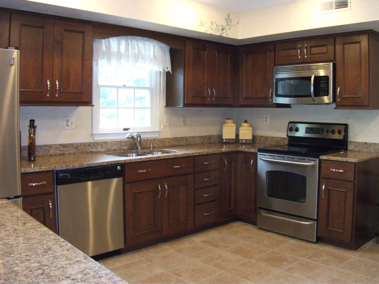 Kitchen makeover with cabinet refacing organized by design How to do a home makeover