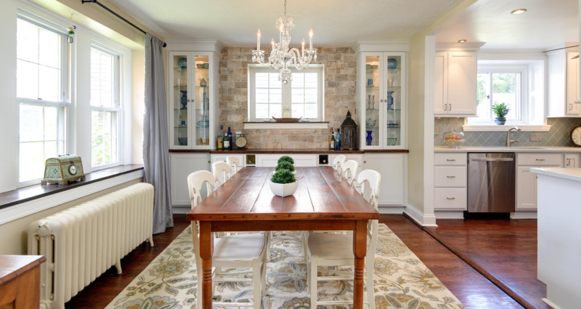 Dining Room Makeover Sycamore Rd Havertown PA