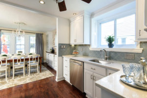 Kitchen and Dining Room Home Makeover Renovation www.Organized-by-Design.biz