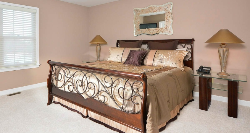 Award Winning Home Staging of Guest Bedroom www.Organized-by-Design.biz