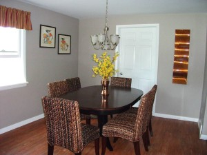 Dining Room Home Makeover www.Organized-by-Design.biz