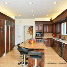 Home Makeover, Redesign of Kitchen, Chester County, PA by Organized by Design