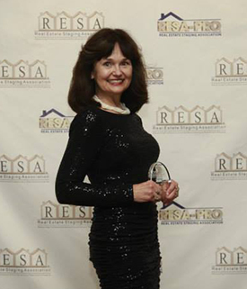 RESA awards Sherry Castaldi