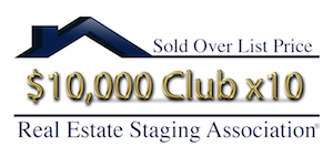 RESA Sold Over List Price Club $10,000 (10x)Over List Price