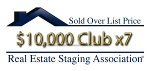 RESA Sold Over List Price Club $10,000 Over List Price 7x