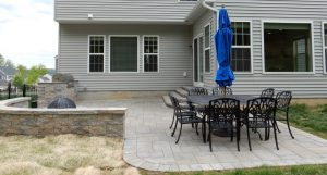 Custom Paver Patio Home Makeover Project