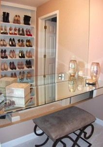 Organized Master Dressing Room Vanity